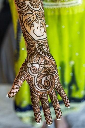 rakhsha bandhan mehndi design