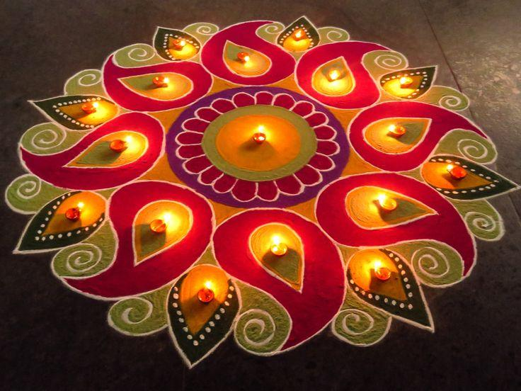 special rangoli for diwali