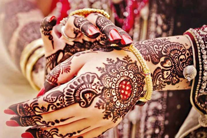 bridal simple mehndi designs