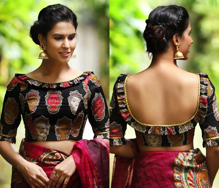 Backless Blouse without lace
