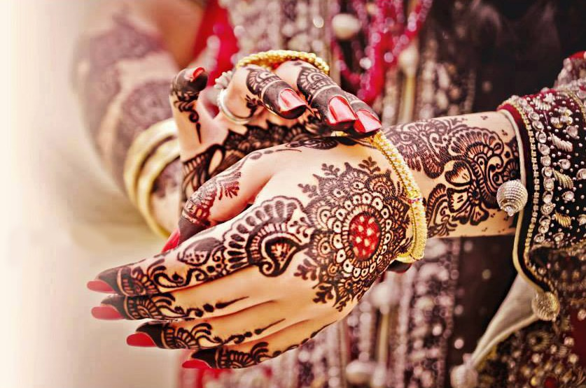easy and simple mehndi design image