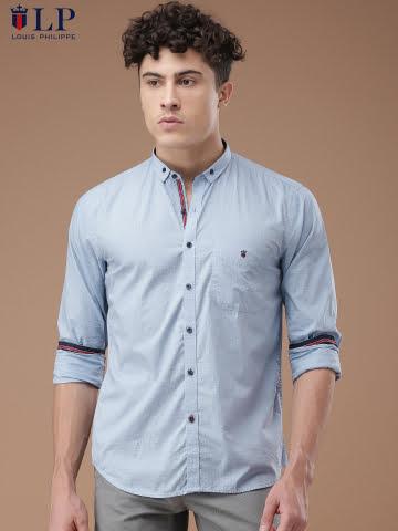 Louis Phillipe Printed Shirt