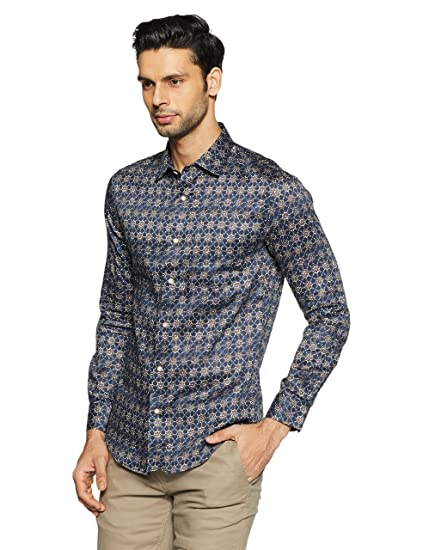 Thin Fit Printed Shirts for Men