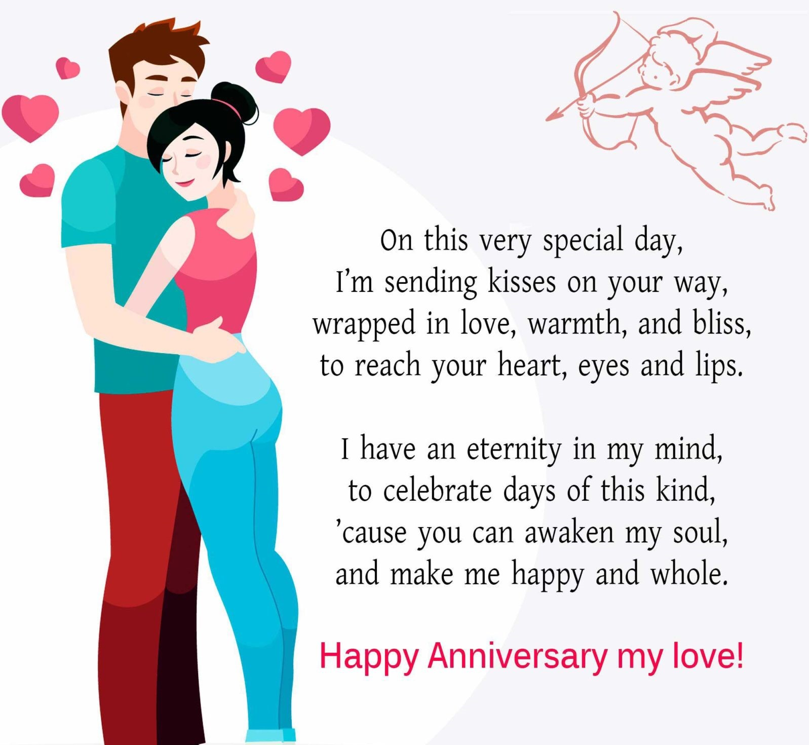 lovely Anniversary Wishes