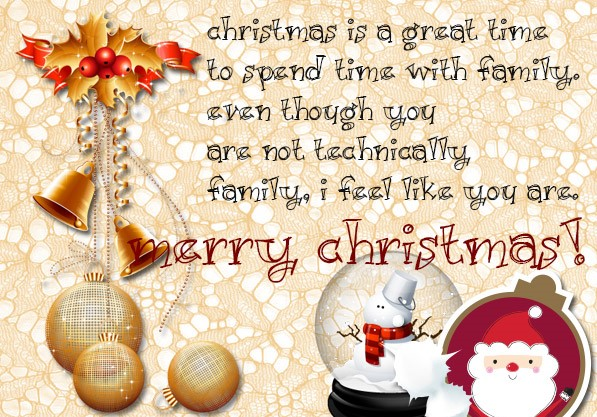Christmas card messages for boyfriend